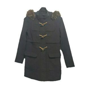 Tommy Hilfiger Wool Blend Toggle Coat - Women's